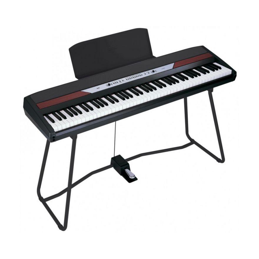 KORG SP250 BK - PIANOFORTE STAGE CON SUPPORTO