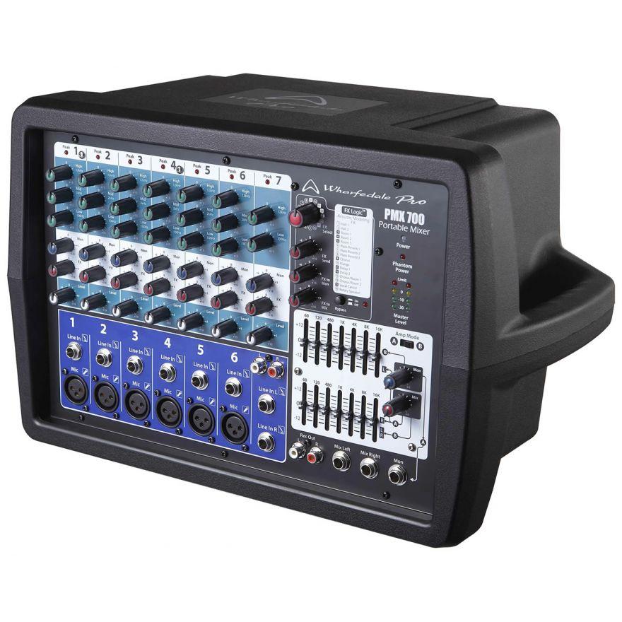 Wharfedale Pro PMX 700 - MIXER AMPLIFICATO 7 CANALI