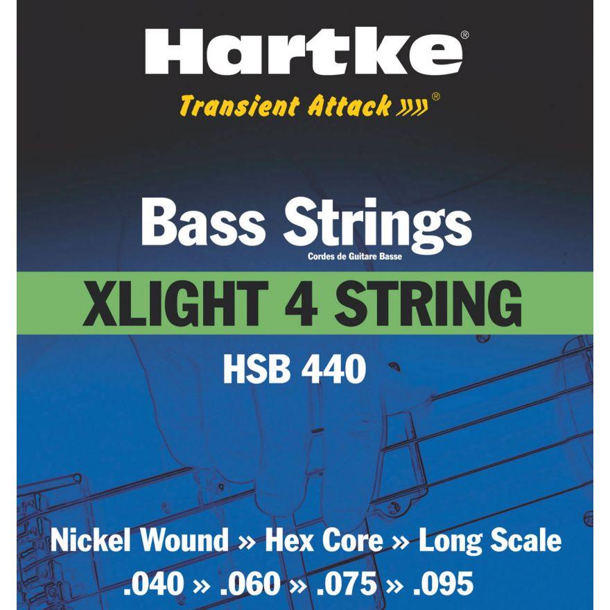 HARTKE XLIGHT 4 - MUTA PER BASSO 4 CORDE (40-95)