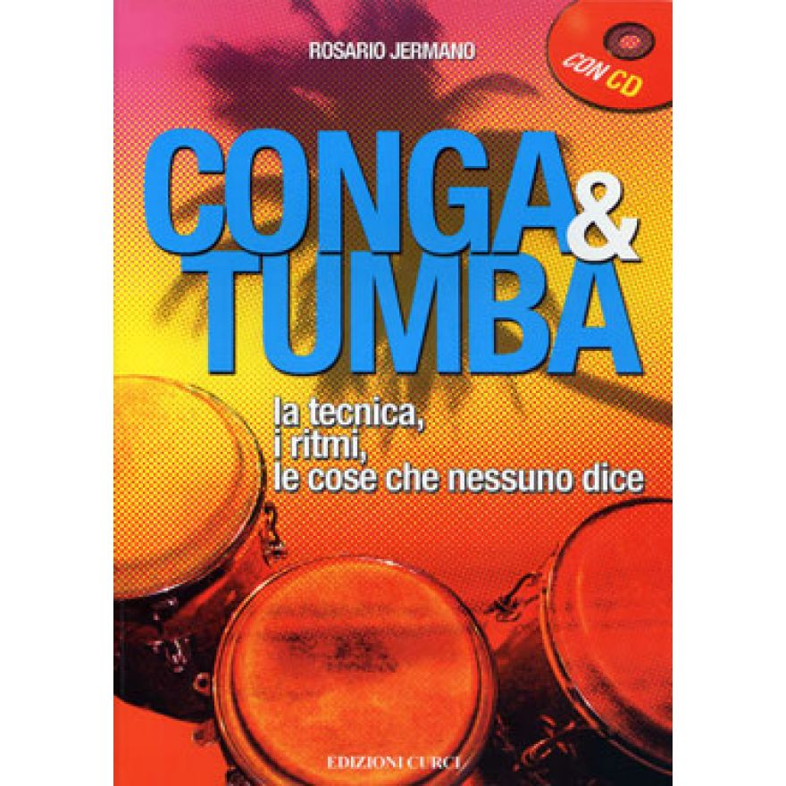 CURCI JERMANO Rosario - CONGA & TUMBA (+CD)