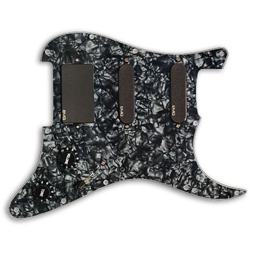 EMG SL20 SET BLACK - BATTIPENNA PRE CABLATO PER CHITARRA ELETTRICA