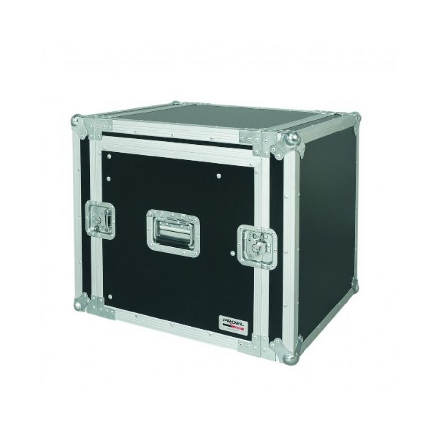 PROEL SA10BLKM - Flight case 10U a rack 19 con portamixer