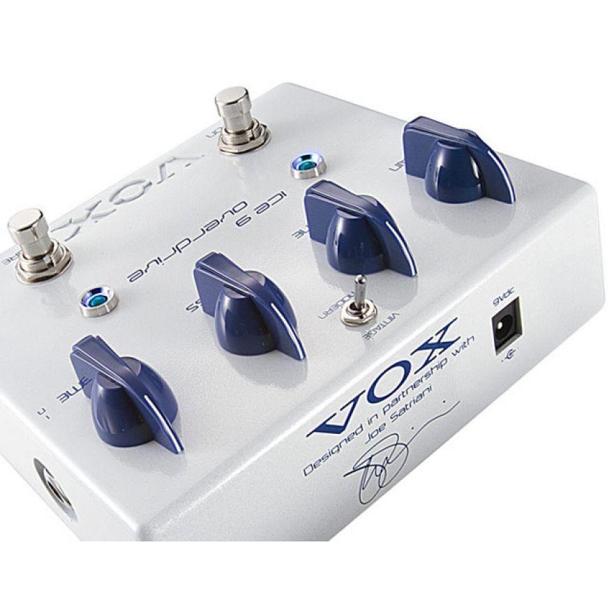 VOX JS OD ICE  OVERDRIVE - DISTORSORE JOE SATRIANI SIGNATURE