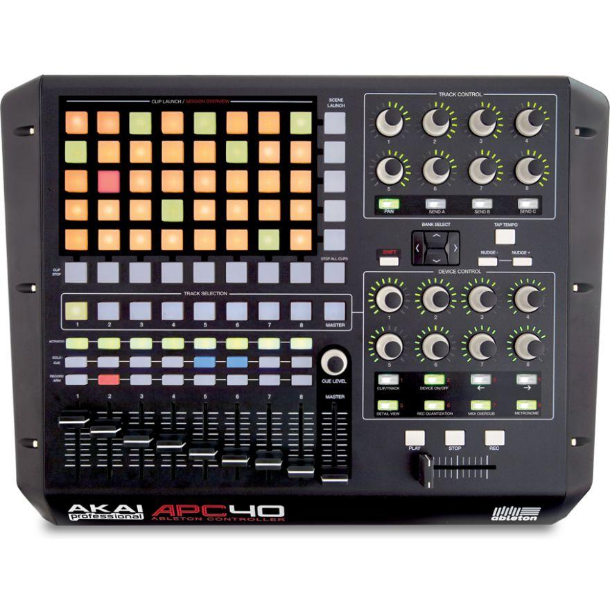 AKAI APC40 - ABLETON LIVE USB MIDI CONTROLLER