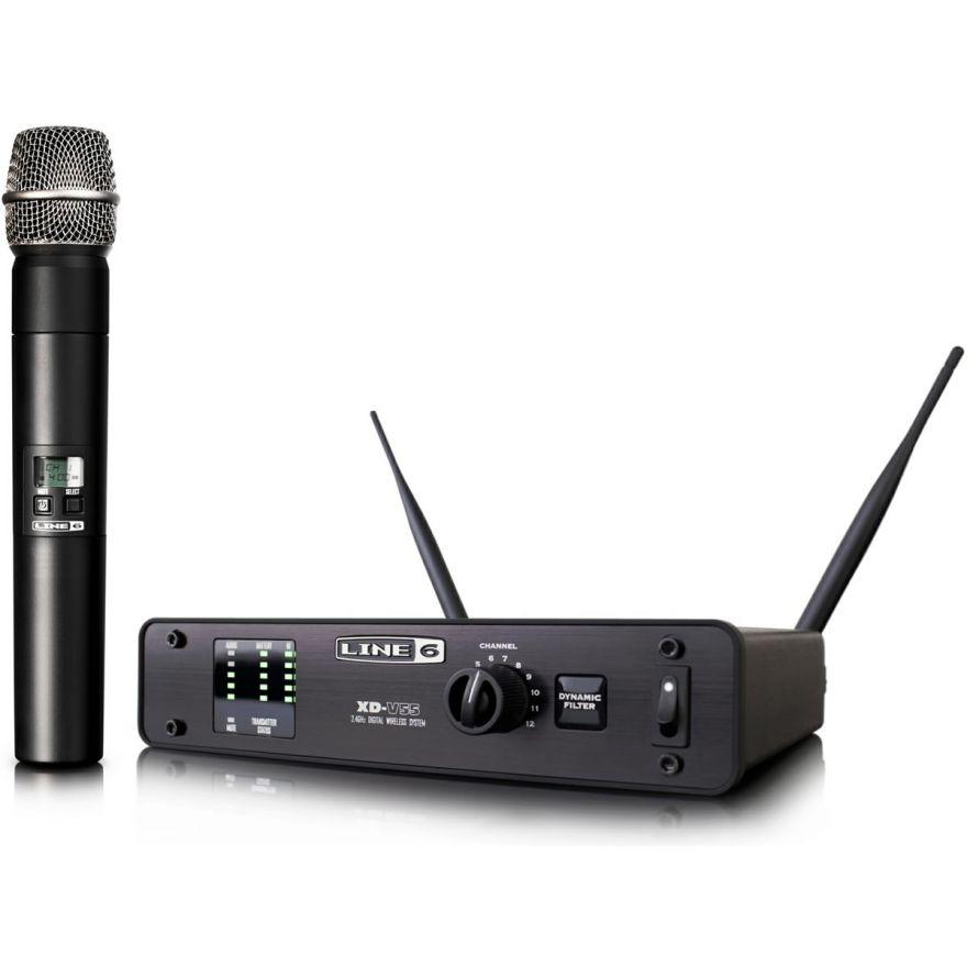 LINE6 XD V55 - RADIOMICROFONO DIGITALE PALMARE