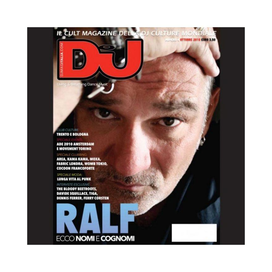 DJ MAG ITALIA DJ MAG OTTOBRE 2010
