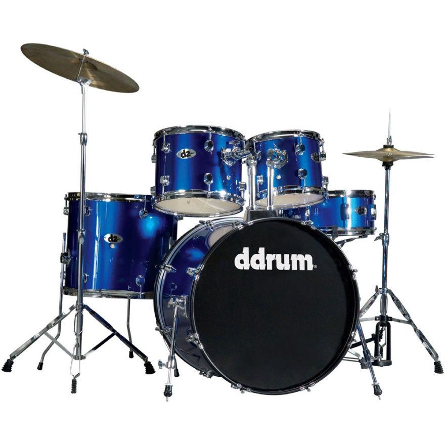 DDrum D2 PB Police Blue - BATTERIA ACUSTICA KIT COMPLETO