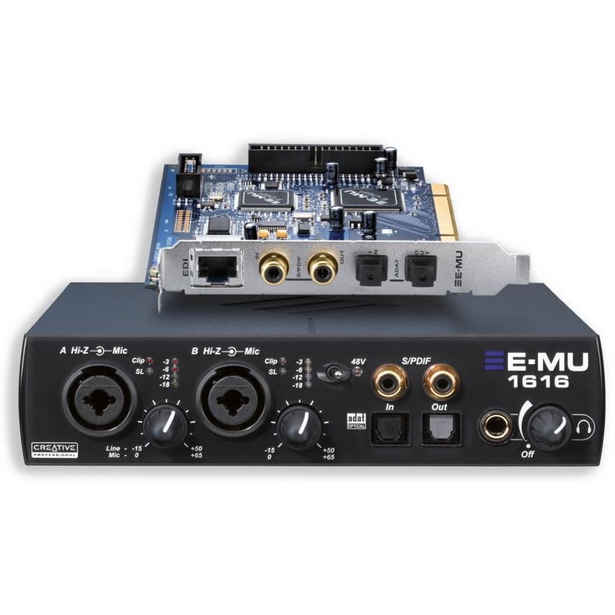 E-MU 1616 v2 PCI - SCHEDA AUDIO PCI MULTICANALE