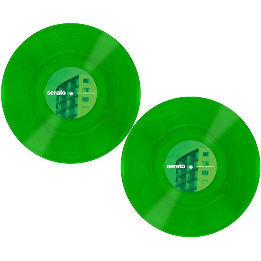 SERATO GREEN GLASS 10 (COPPIA) - VINYL CONTROL PER SERATO