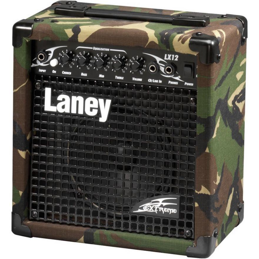 LANEY LX12 CAMO - AMPLIFICATORE PER ELETTRICA 10W RMS