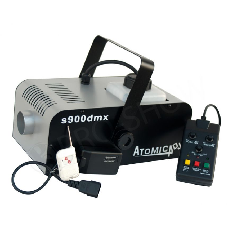 Macchina del Fumo 900 Watt Atomic4Dj S900DMX Wireless