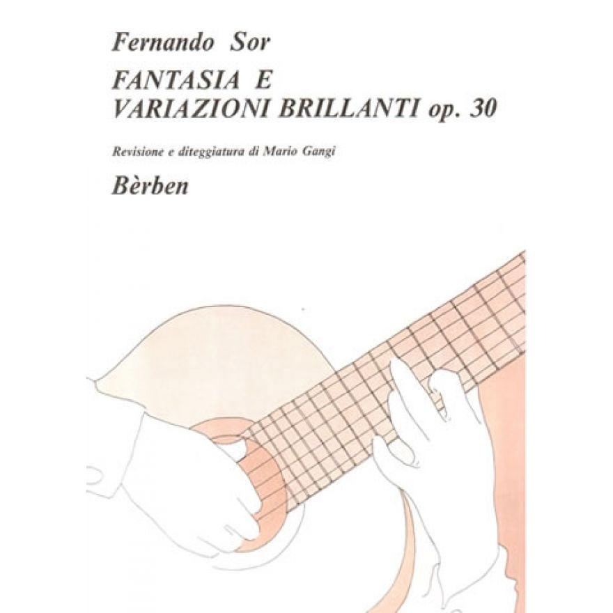 BÉRBEN SOR Fernando - FANTASIA E VARIAZIONI BRILLANTI Op. 30