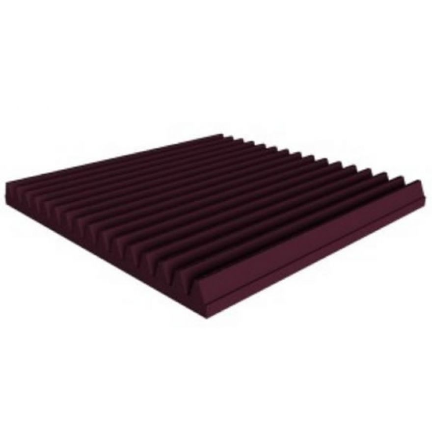 UNIVERSAL ACOUSTICS Mercury Wedge 600-100mm Burgundy 10PZ