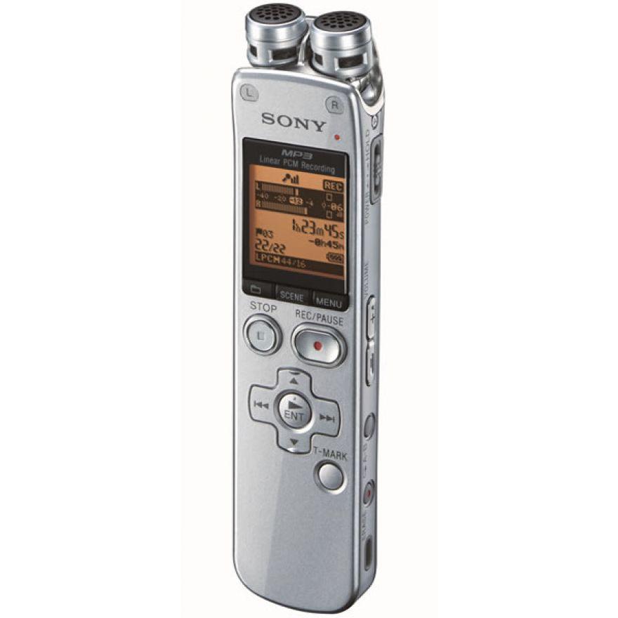 SONY ICD-SX712 Silver - REGISTRATORE DIGITALE DA 2GB
