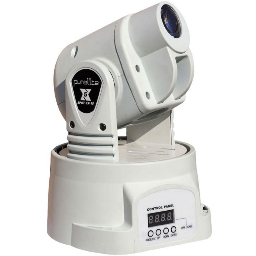 PURELITE SPOT EX15W - MINI TESTA MOBILE CON LED DA 15W