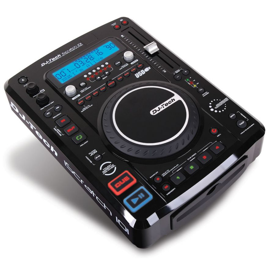 0-DJ TECH ISCRATCH 101 V2 -