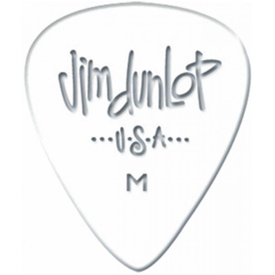 Dunlop 483R01HV White Classic Heavy 72 Plettri