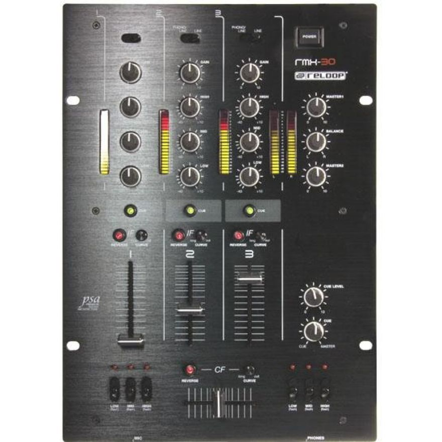 RELOOP RMX30 BPM Black Fire Edition - Mixer DJ Professionale