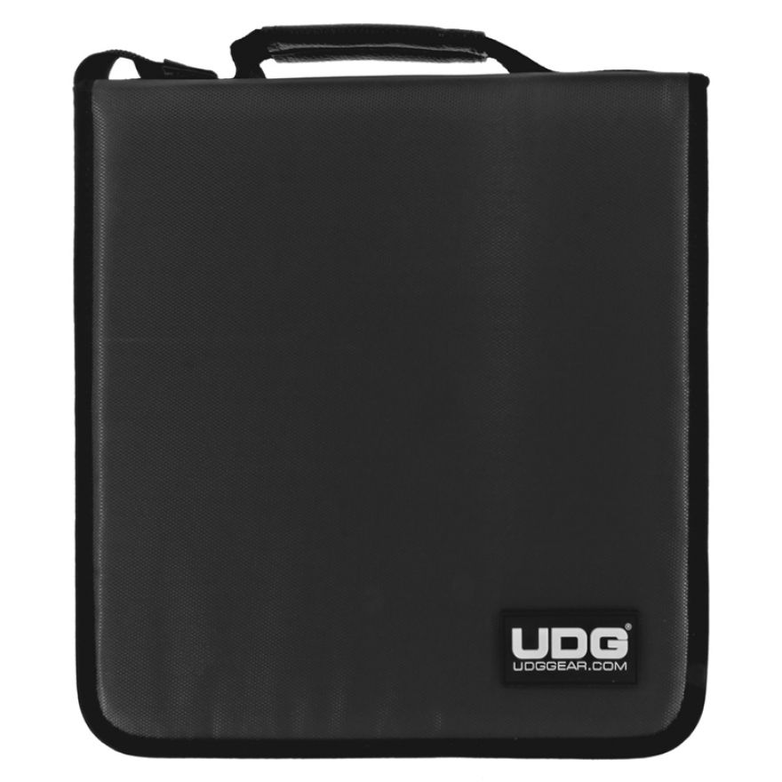 UDG CD WALLET 128 Steel Grey/Orange Inside - CUSTODIA PER 128 CD/DVD