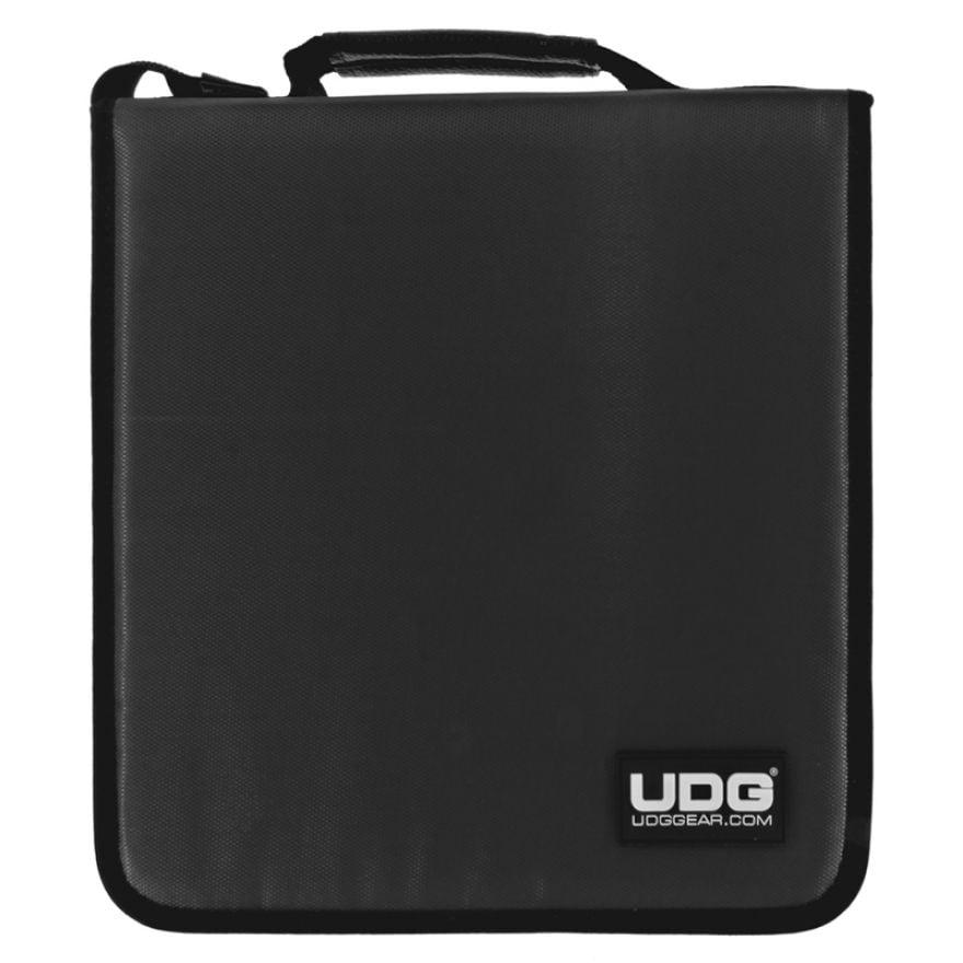 UDG CD WALLET 128 Steel Grey/Orange Inside - CUSTODIA PER 128 CD/DVD