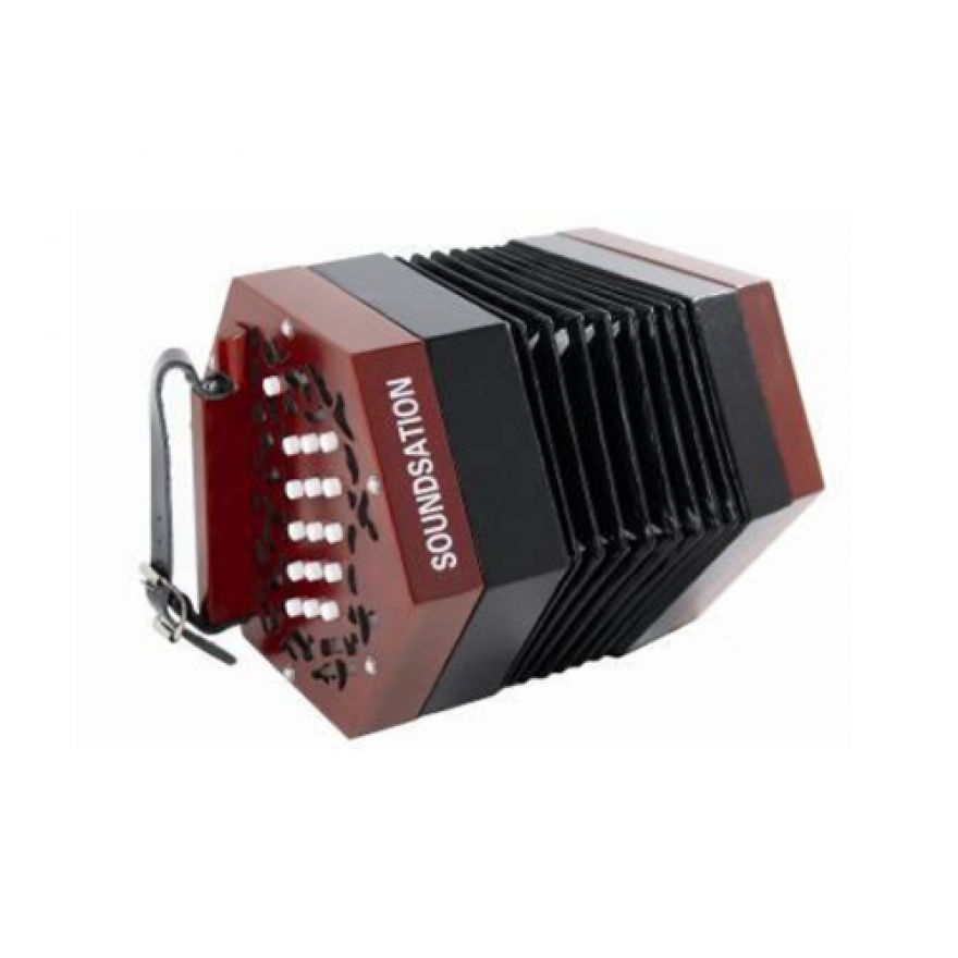 SOUNDSATION SACON-1503-WD - CONCERTINA 15 TASTI CON CUSTODIA