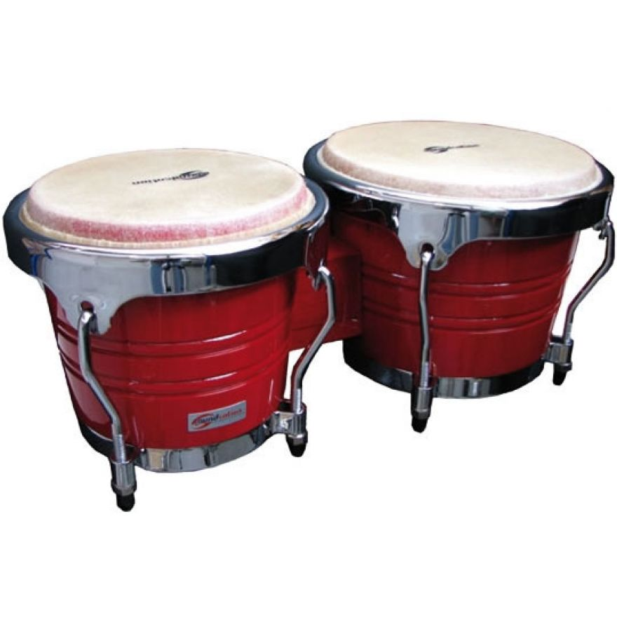 SOUNDSATION SB02-RD - Bongos 7 + 8 in Legno