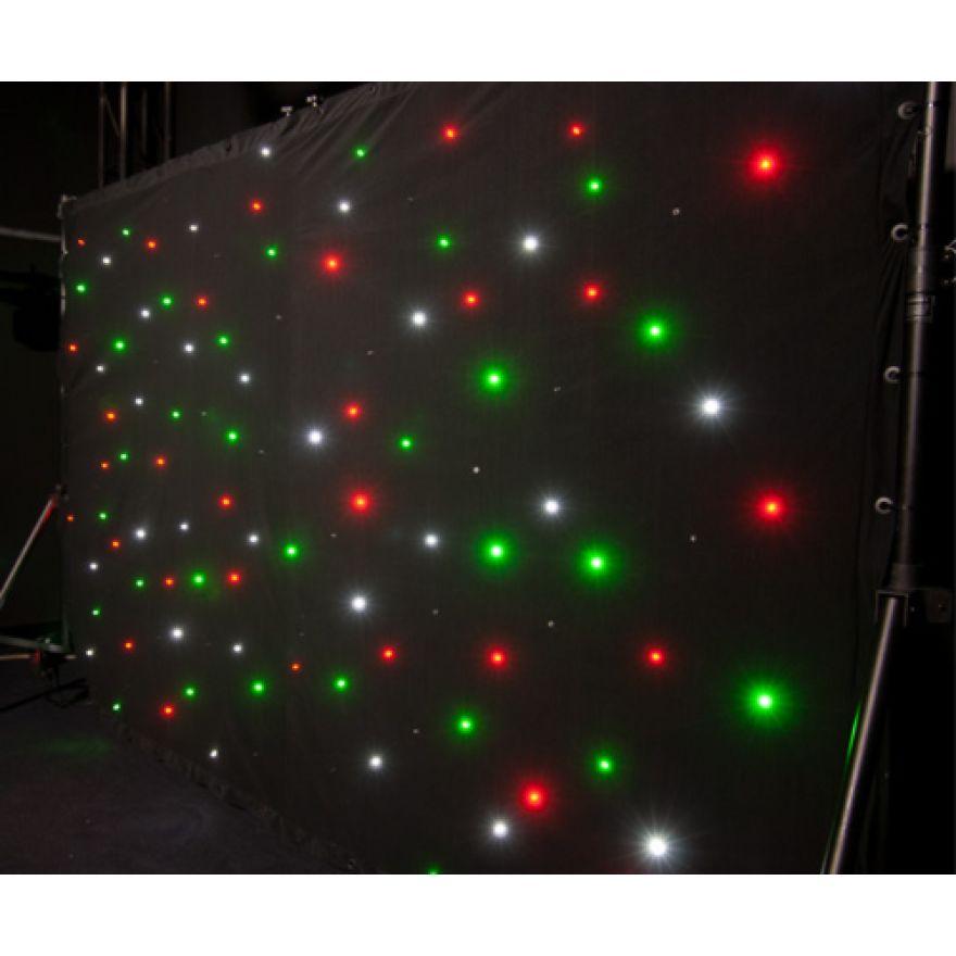 CHAUVET SPARKLE DRAPE - TELO A 120 microLEDS