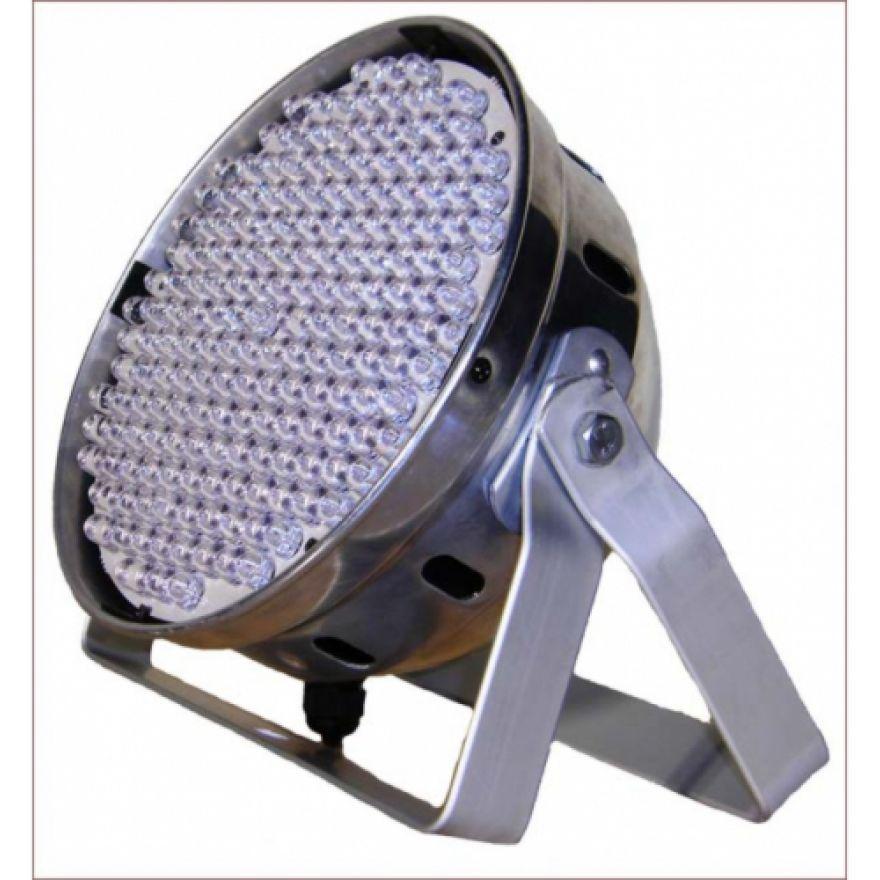 FLASH LED PAR 64 186X RGBW DMX Silver II EV. - EFFETTO LUCE A LE