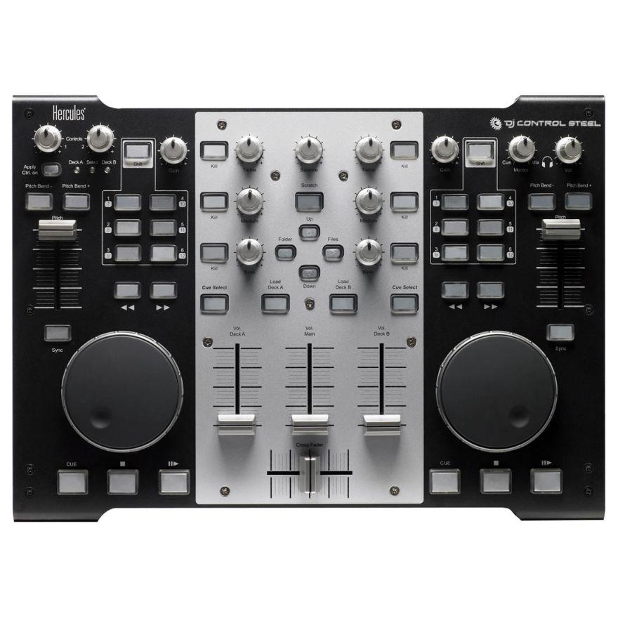 0-HERCULES DJ CONTROL STEEL