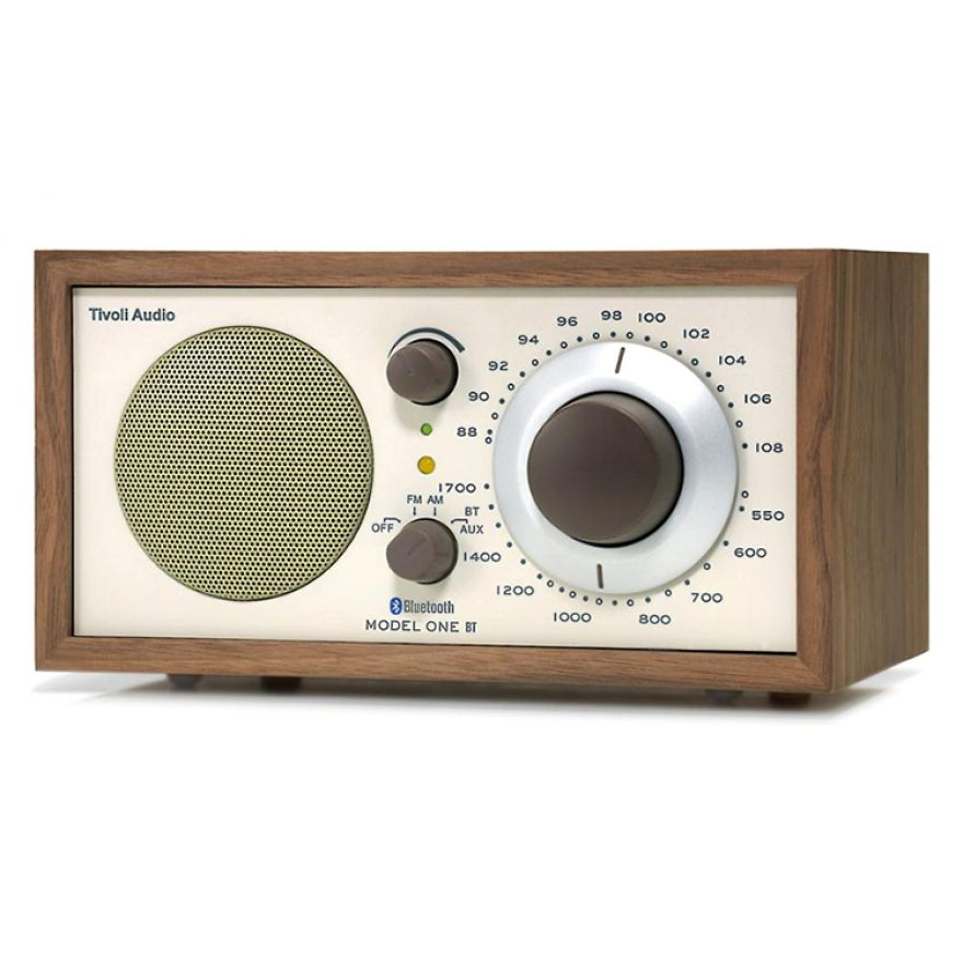 Tivoli Audio MODEL ONE BT Beige Walnut - RADIO AM/FM CON BLUETOOTH