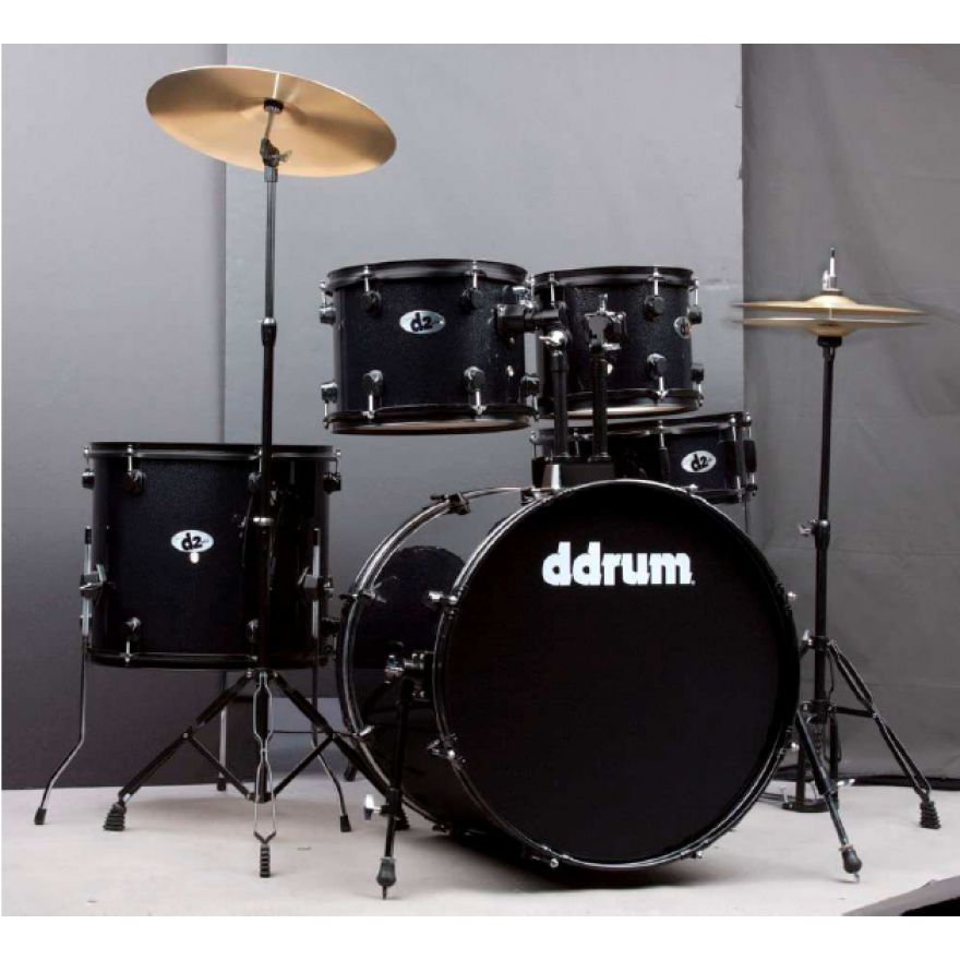 DDrum D2 B BS Black Sparkle - BATTERIA ACUSTICA KIT COMPLETO