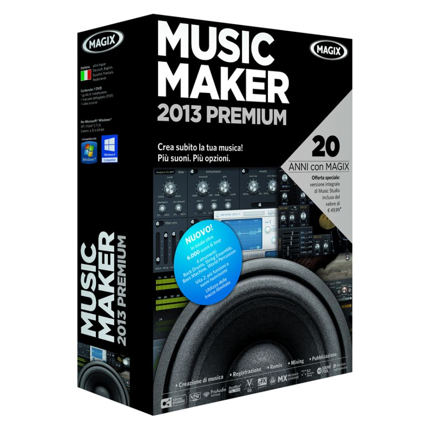 0-MAGIX Music Maker 2013 Pr