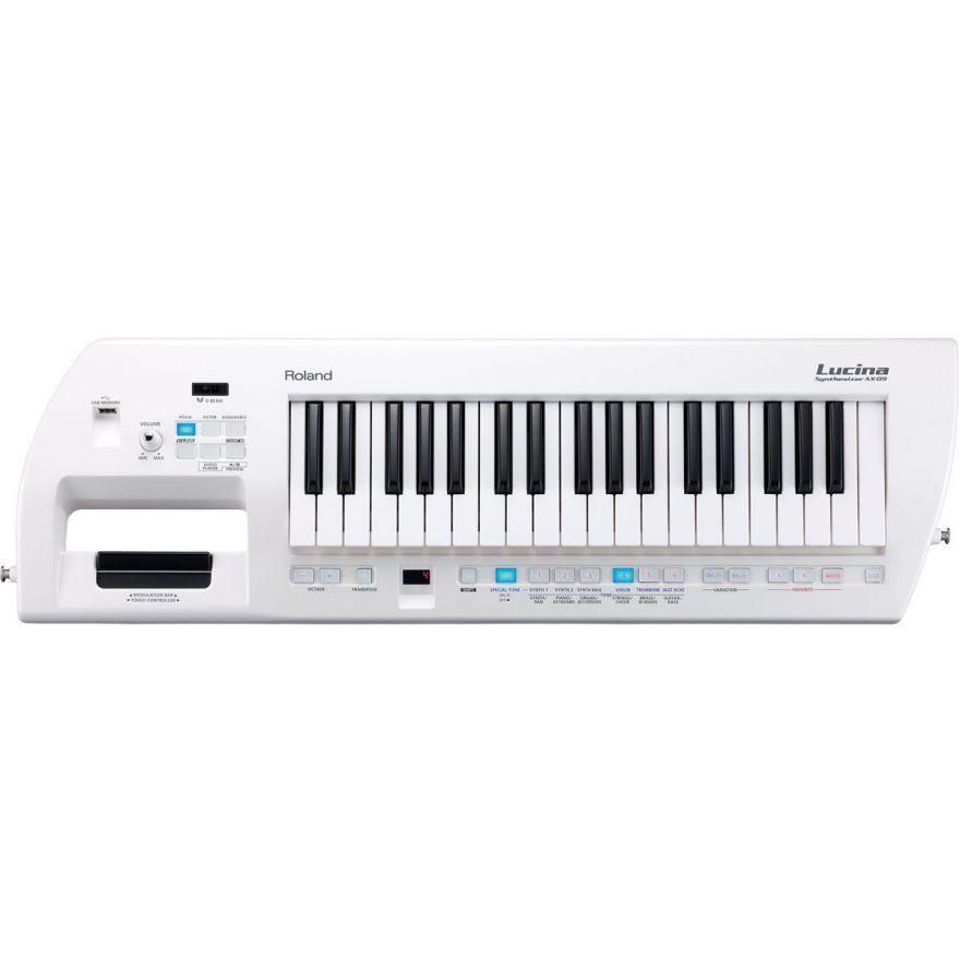 ROLAND AX09 Lucina White - Sintetizzatore 37 tasti a tracolla