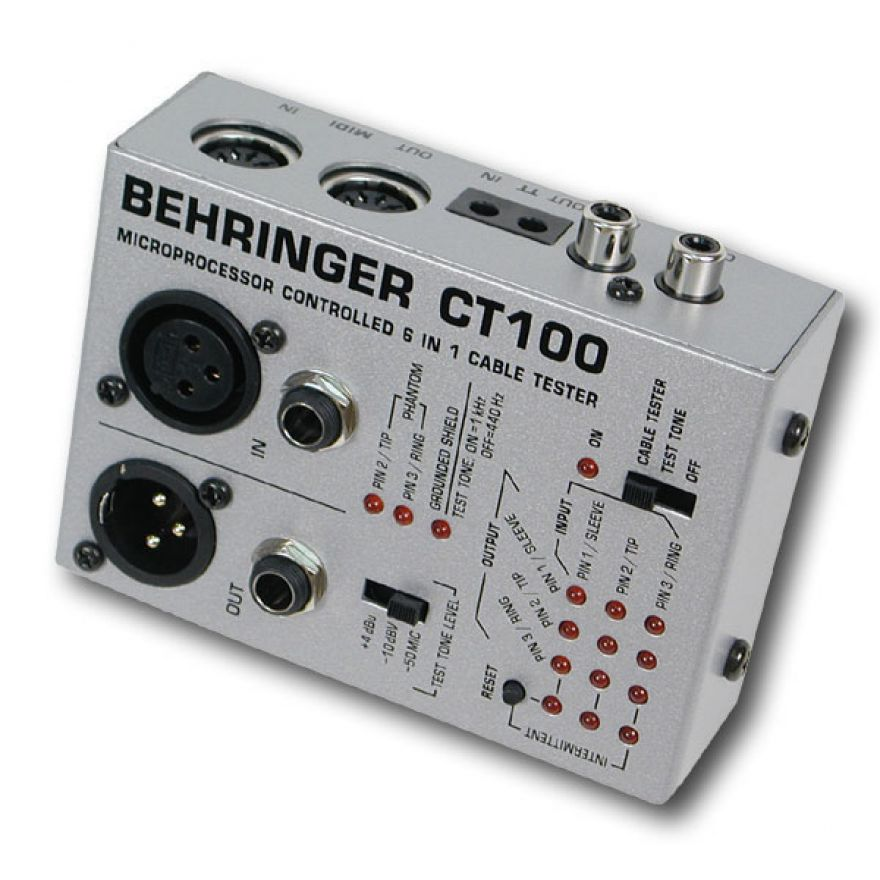 0-BEHRINGER CT100 Cable Tes