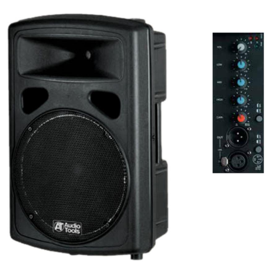 AUDIO TOOLS AS122BA [EX DEMO] - DIFFUSORE AMPLIFICATO 250+50W