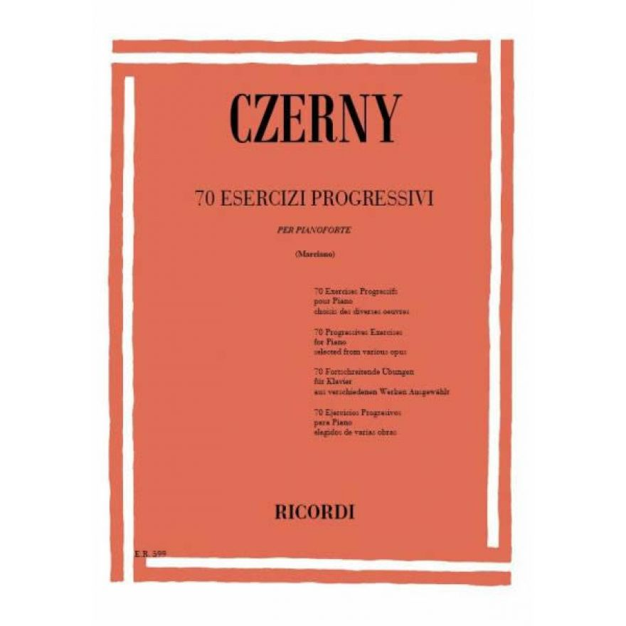 0-RICORDI Czerny, Carl - 70
