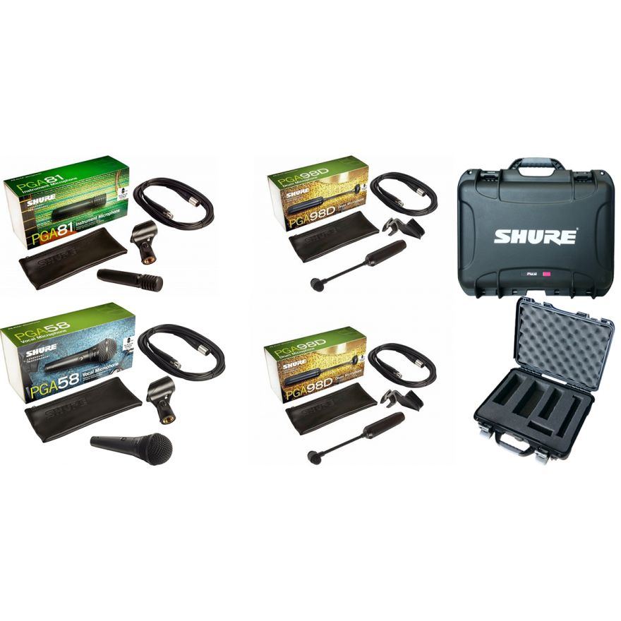 SHURE KIT MICROFONI MINI BAND