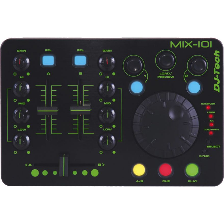 DJ TECH MIX101 - CONTROLLER USB MIDI