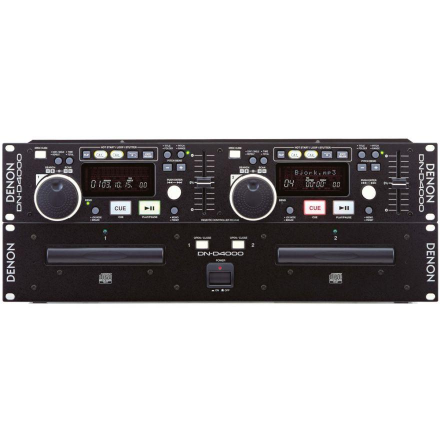 DENON DND4000 - LETTORE CD/Mp3 DOPPIO FORMATO RACK 19'