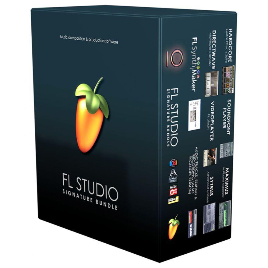 Image Line FRUITYLOOPS FL STUDIO Signature Bundle 10
