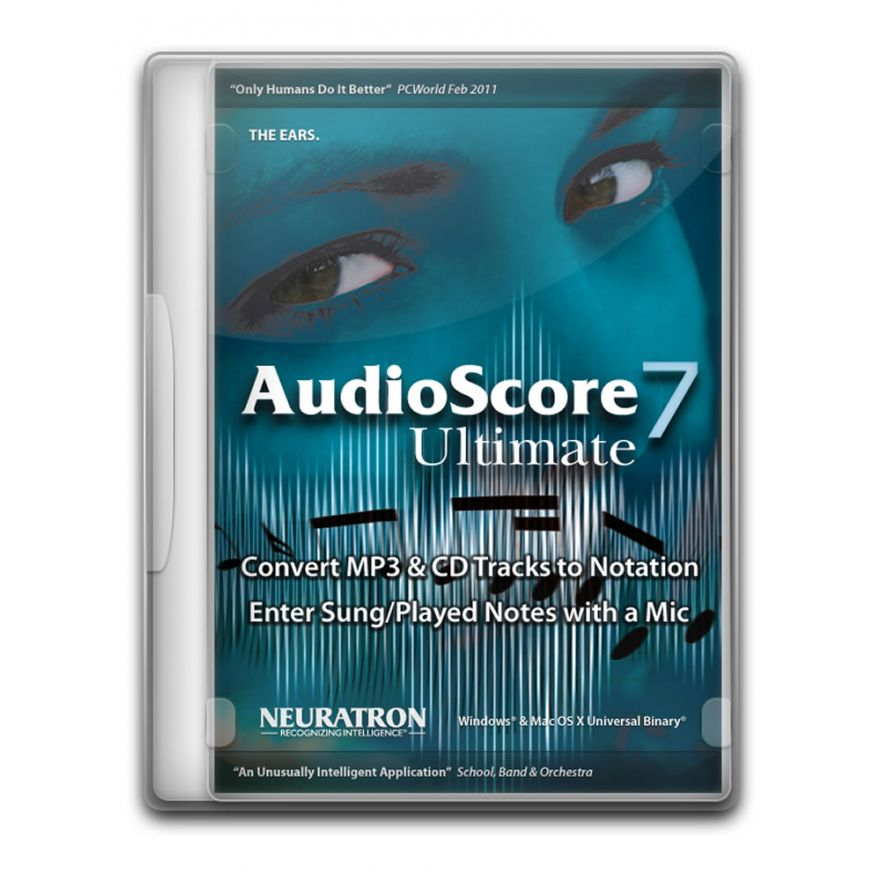 AVID SIBELIUS AudioScore Ultimate 7