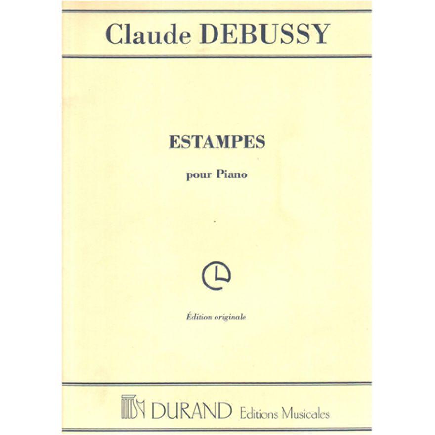 DURAND Debussy, Claude - ESTAMPES, Pour Piano