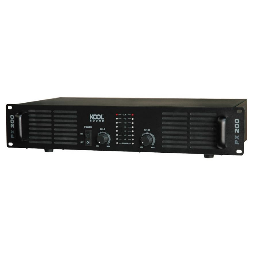 KOOL SOUND PX 200 - AMPLIFICATORE 2 x 80W