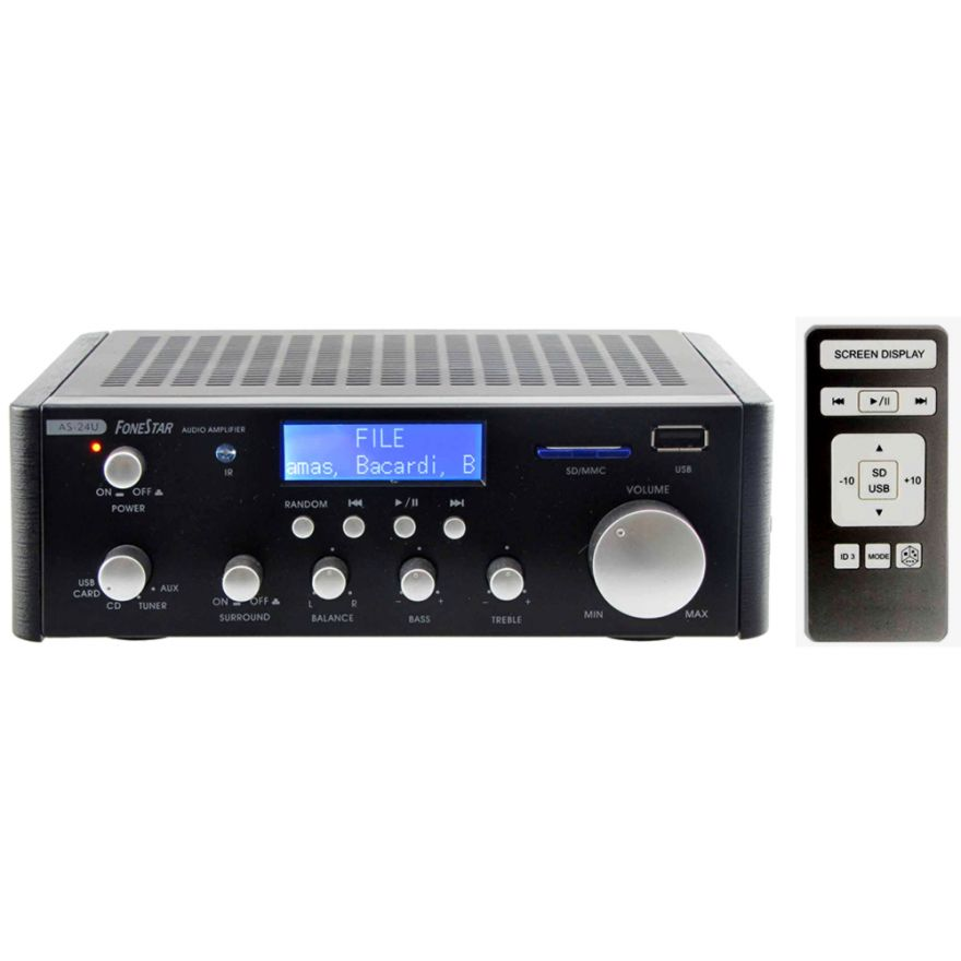 KARMA PA 2370 - AMPLIFICATORE STEREO 70W + Mp3