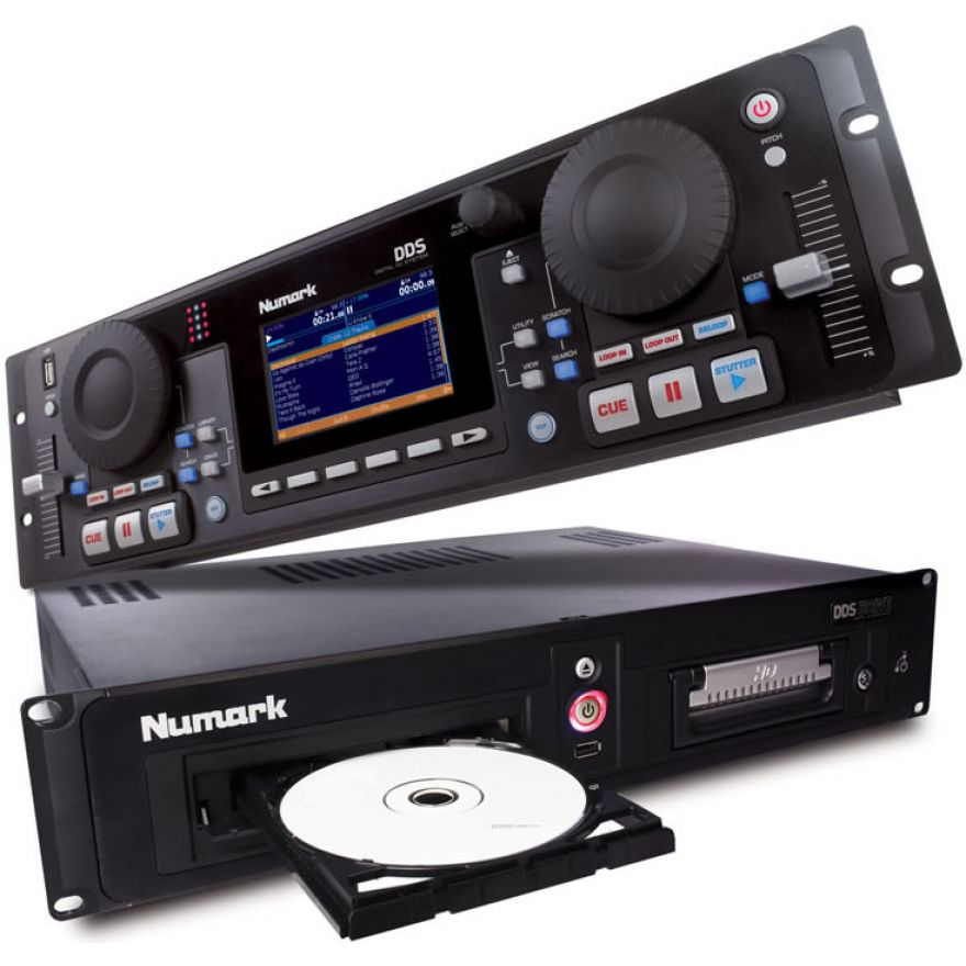 NUMARK DDS80 - CD PLAYER PROFESSIONALE PER DJ