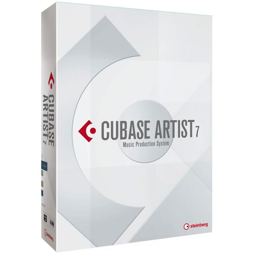 STEINBERG CUBASE ARTIST 7.5 IT Upgrade 1 da Elements 6/7, Essential 4/