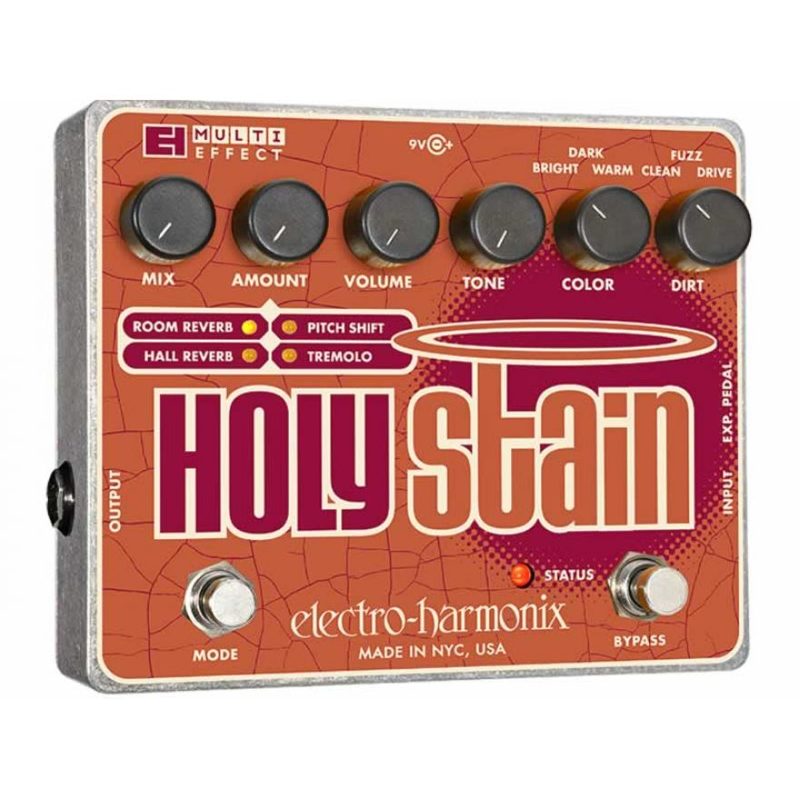 ELECTRO HARMONIX HOLY STAIN-PEDALE MULTIEFFETTO