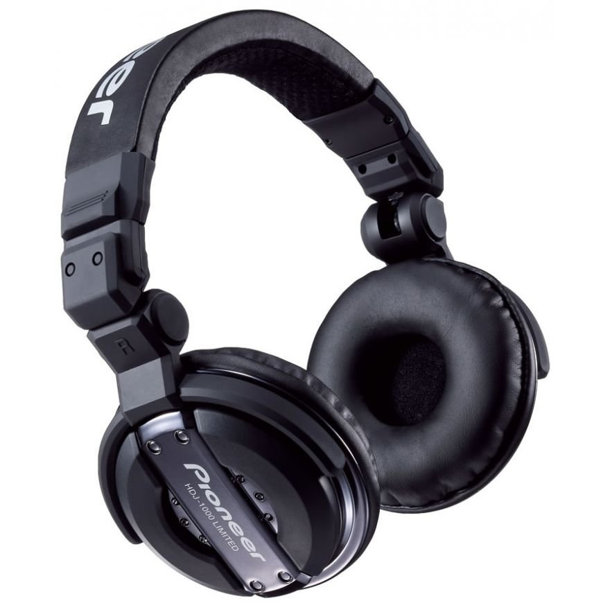 PIONEER HDJ1000 K Black - CUFFIA PROFESSIONALE PER DJ
