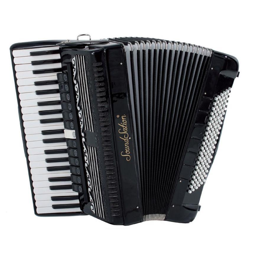 SOUNDSATION SAC-41120-45-BK - Fisarmonica 41 tasti