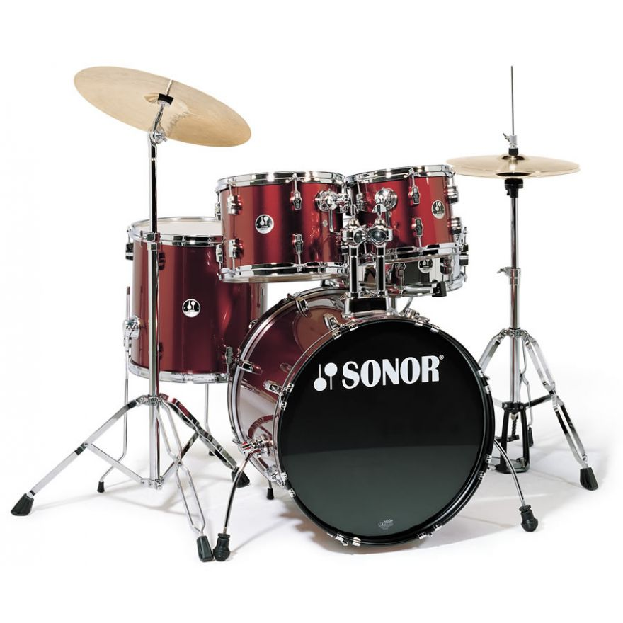 SONOR F507 STUDIO1 WINE RED + OSAN - BATTERIA SET COMPLETO